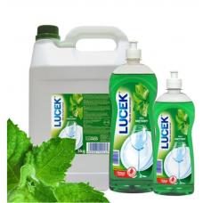 ЛЮЦЕК Mятная жидкость для мытья посуды 1000 ml