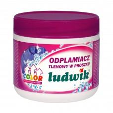 Color кислородный порошковый пятновыводитель для цветных тканей