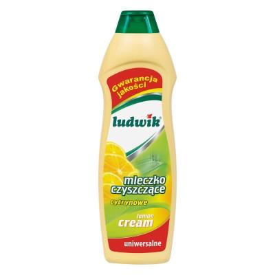Чистящее молочко  лимонное 1000 ml